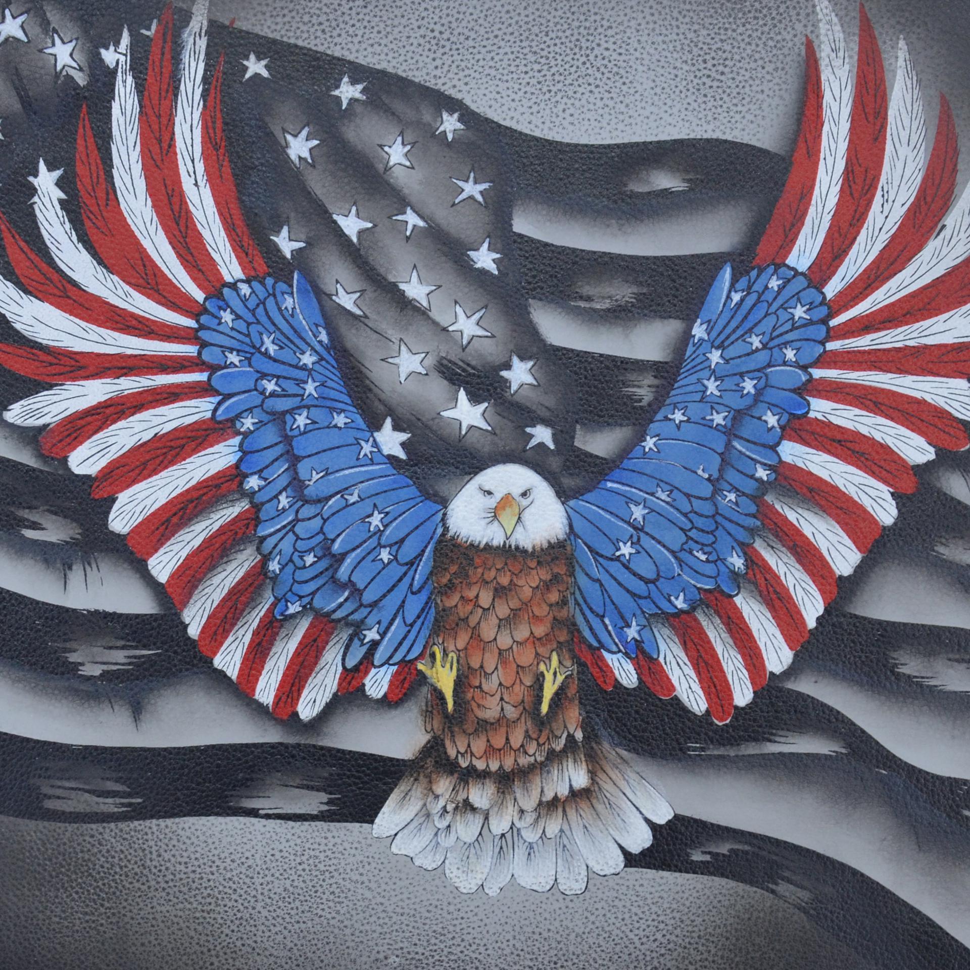 Flag, Eagle