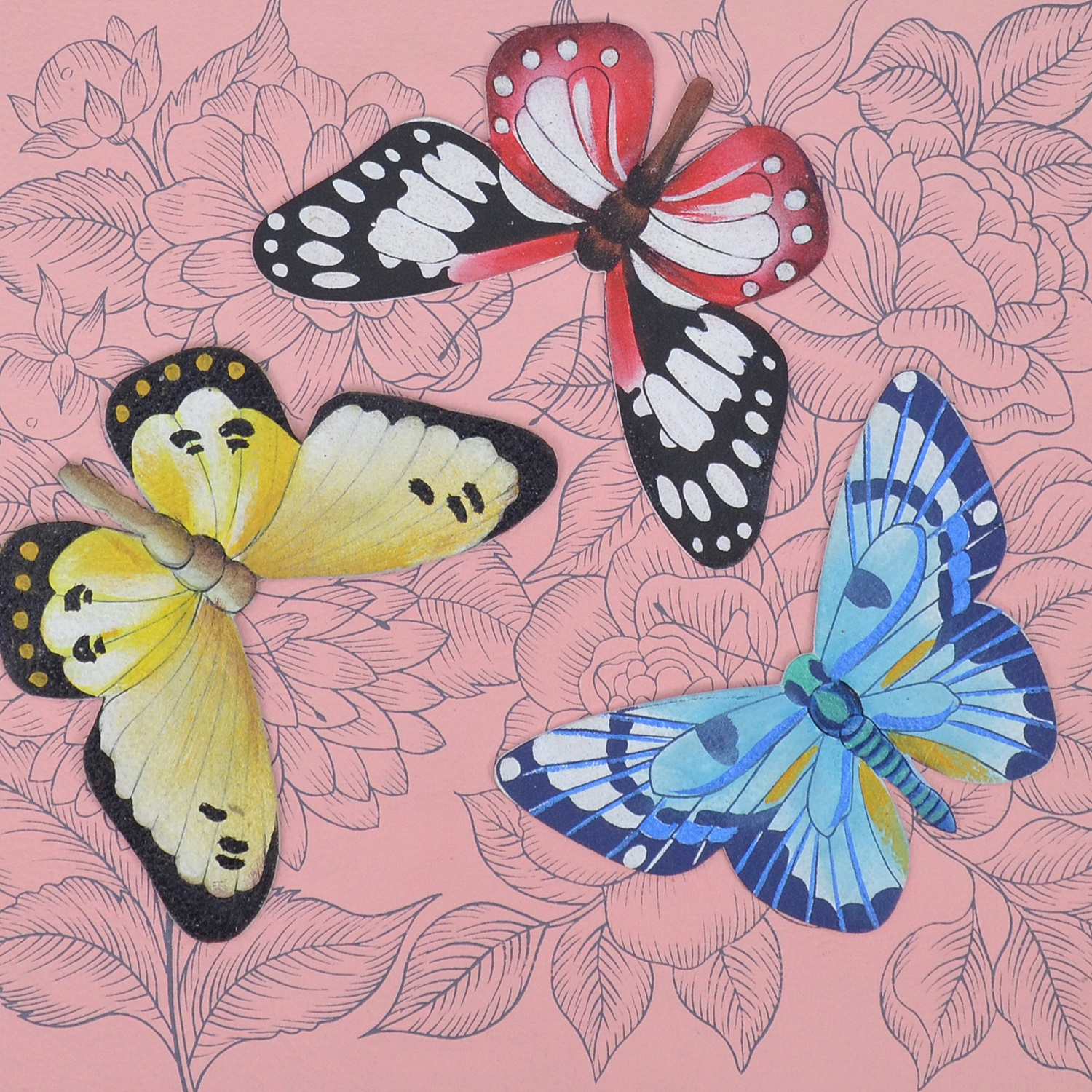 Pink, Butterfly