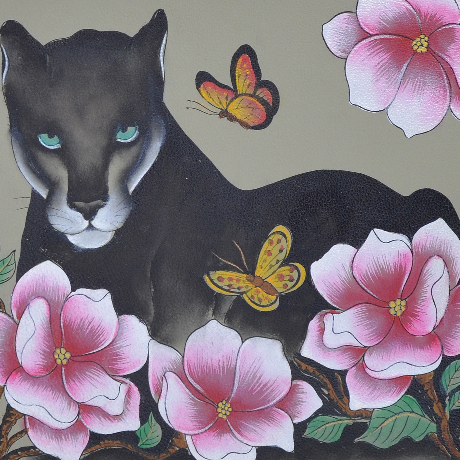 Panther, forest