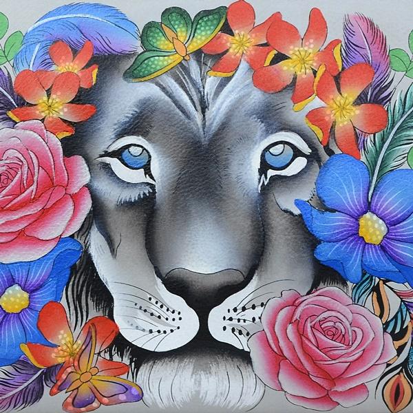 lion, jungle