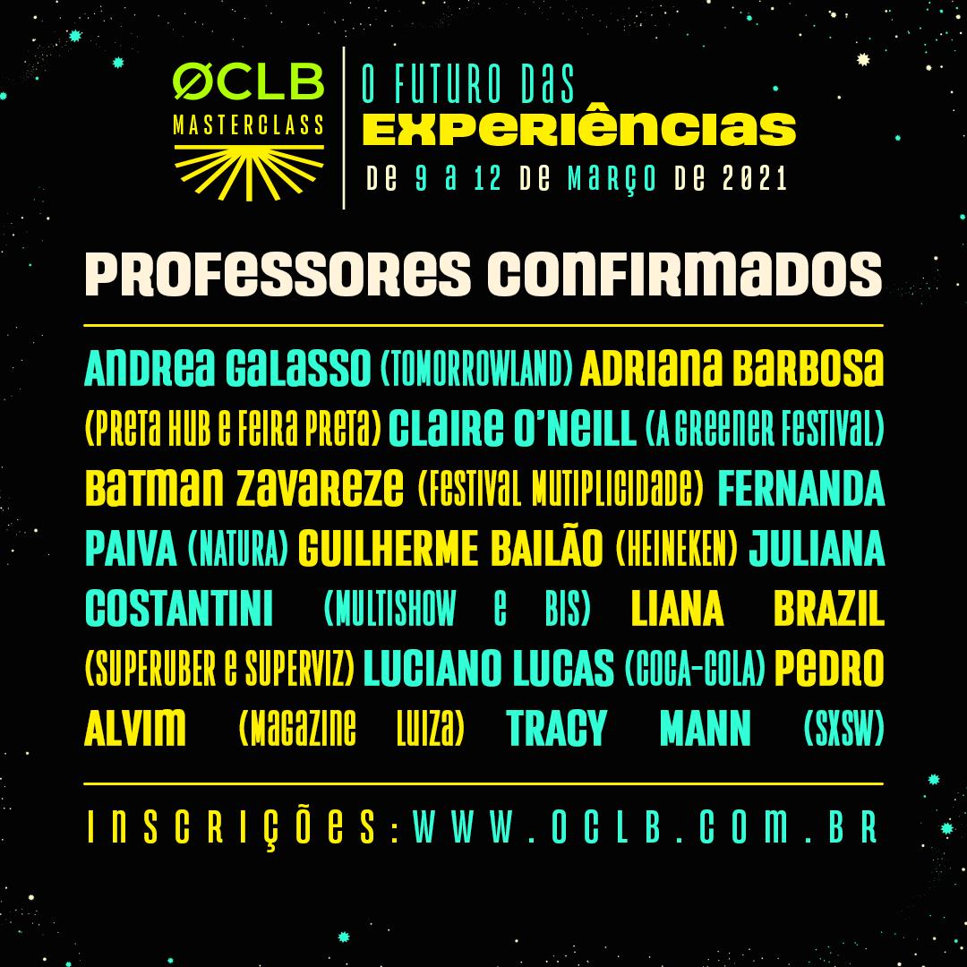 ØCLB Masterclass - O Futuro das Experiências