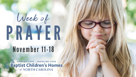 Week of Prayer - November 11-18