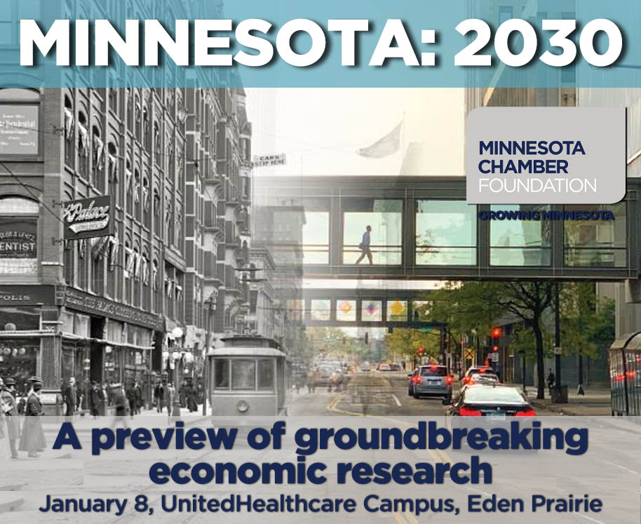 Be among the first to preview Minnesota: 2030 research