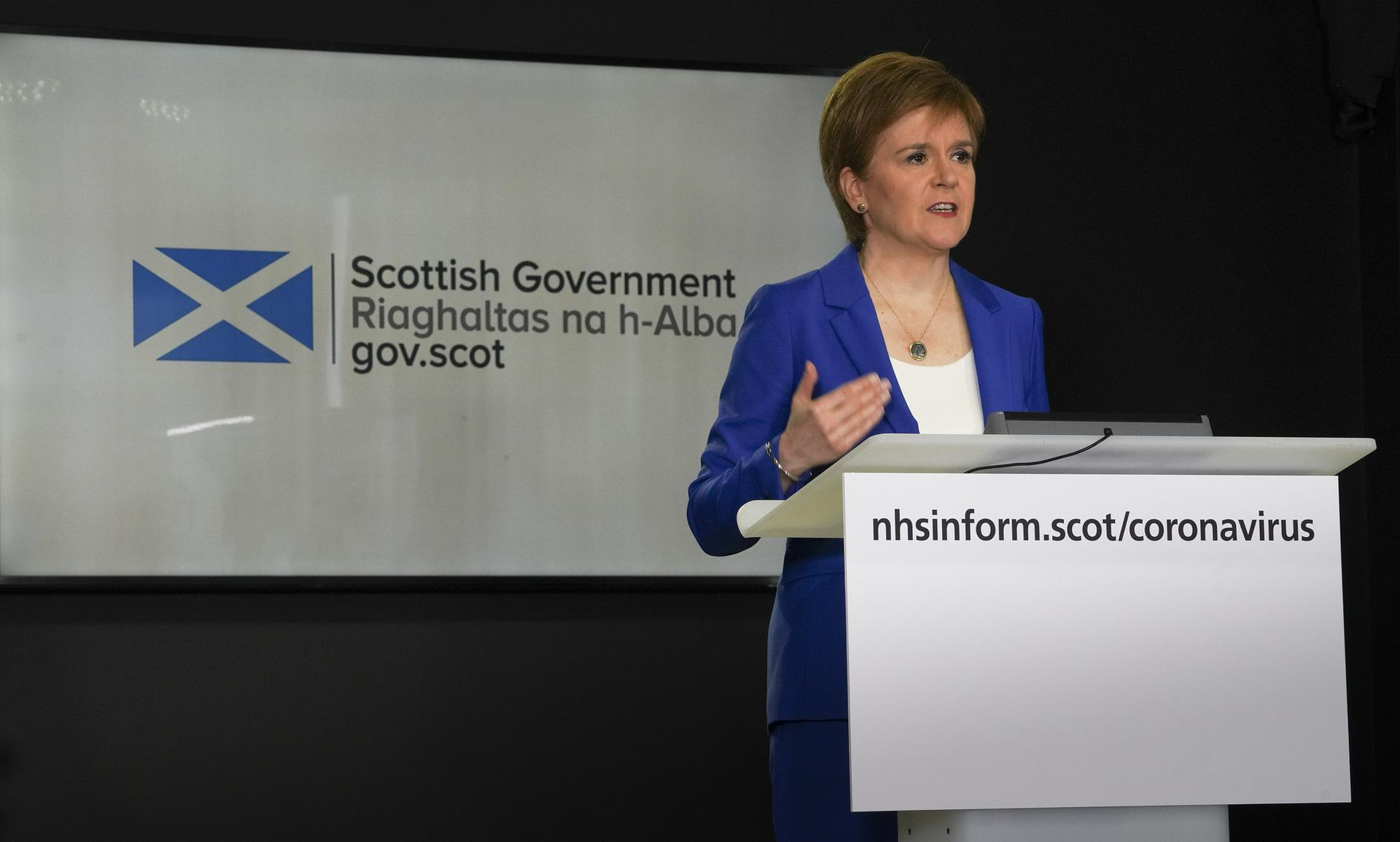 Image of Nicola Sturgeon - Scottish First Minister