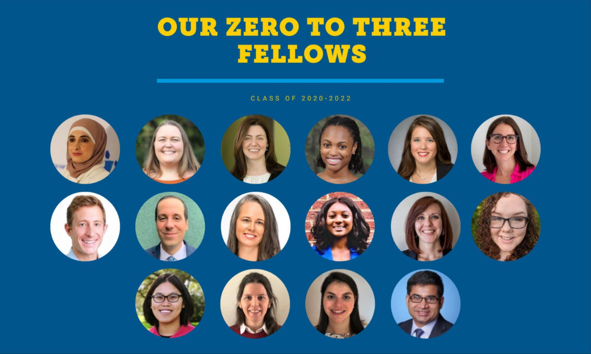 ZERO TO THREE Fellowship Class of 2020-2022