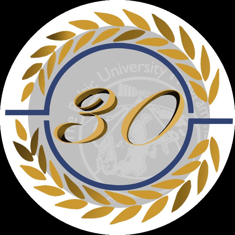 BUP 30 years anniversary logotype