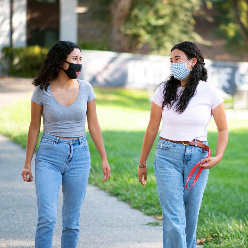 Outdoor campus tour