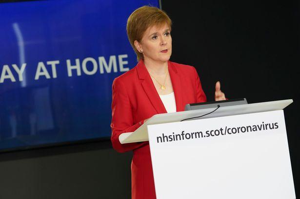 Nicola at podium