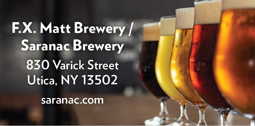 FX Matt Saranac Brewery