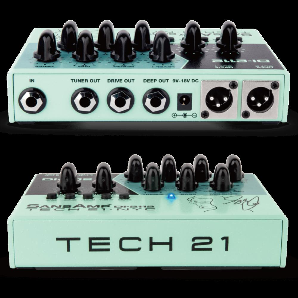 【TECH 21】Geddy Leeシグネチャーモデル!2つのアナログ回路をもつDIが登場!