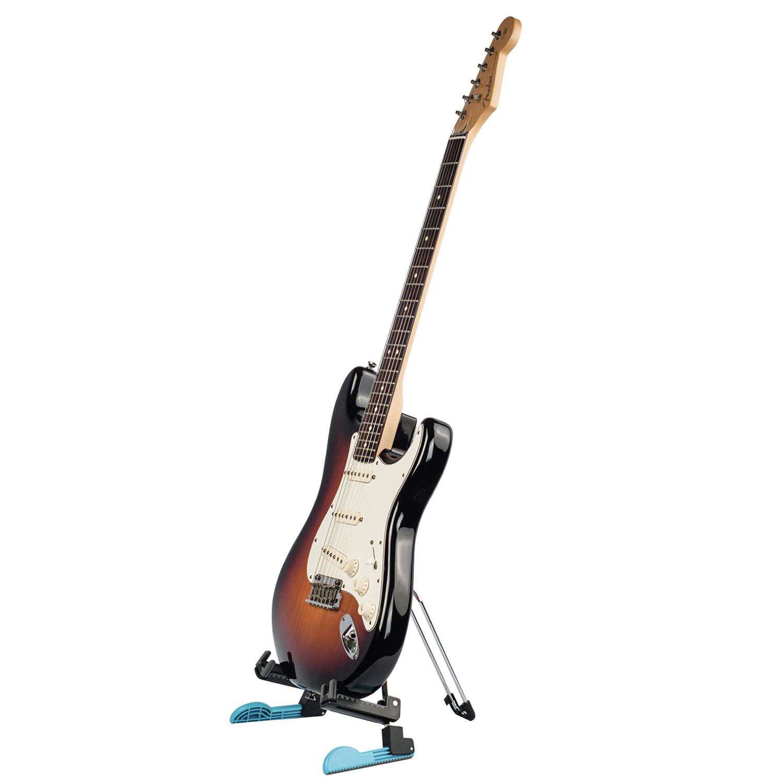 【GUITTO】湿度計付きの湿度管理グッズと頑丈かつコンパクトな折りたたみ式ギタースタンドが登場!