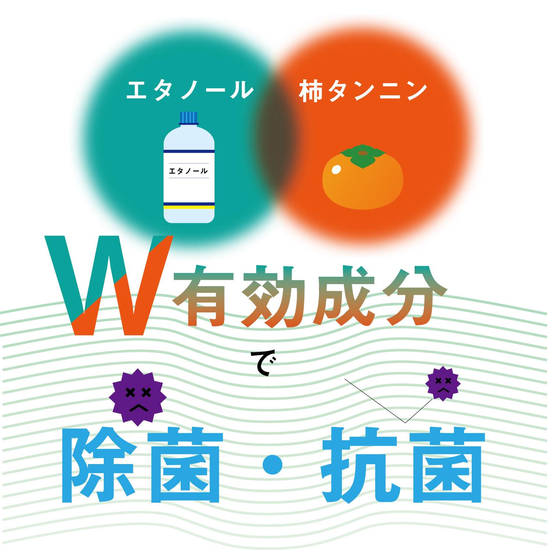 【KIKUTANI】注目の柿渋エキス配合!マイクも清潔に! 時代にマッチした [マイク専用]除菌・消臭スプレー