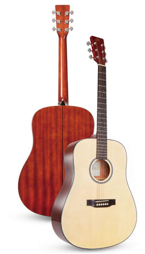 アコースティックギター【SX 新製品】SXより新たなアコースティックギターが4種登場!