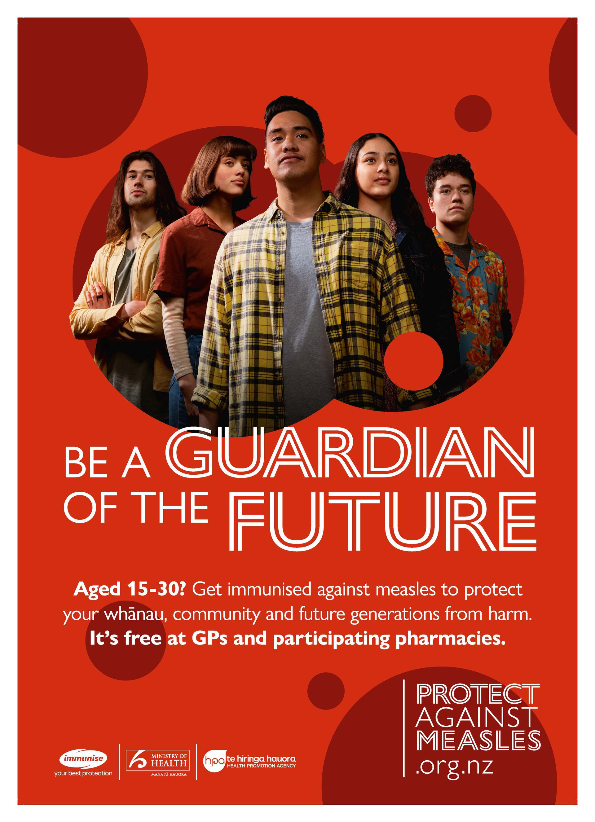 Be a guardian of the future