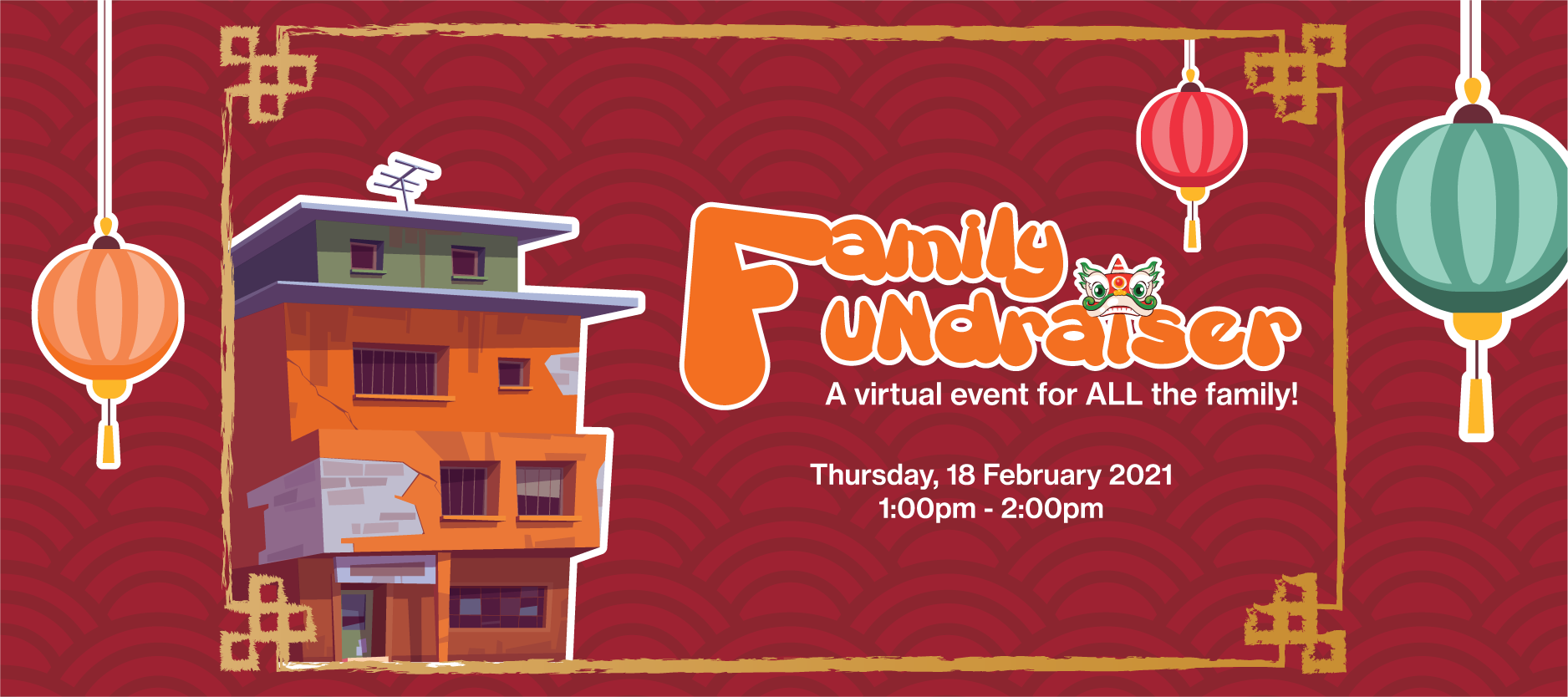 A virtual event for ALL the family!
