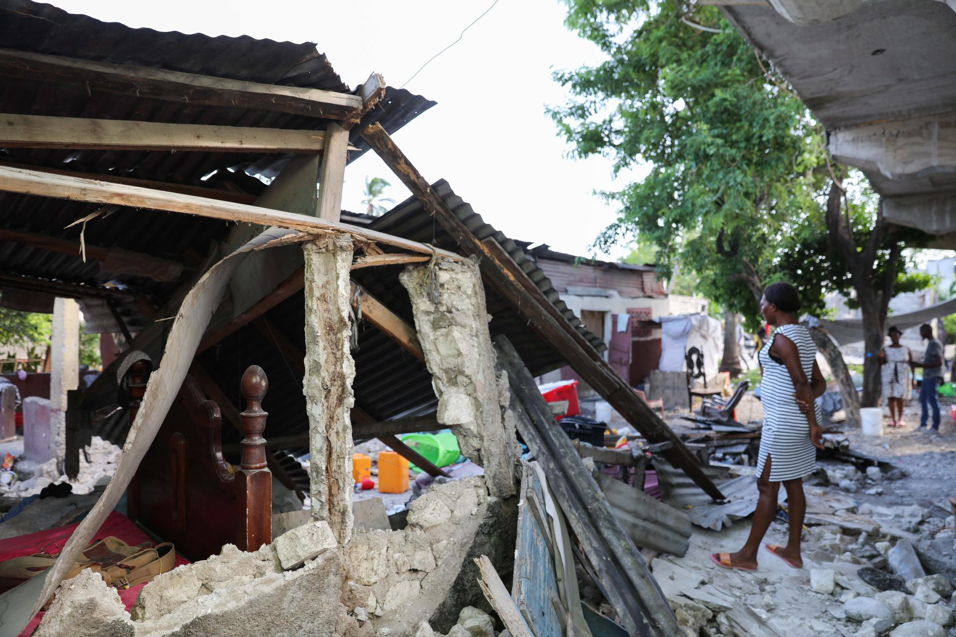 Our response and immediate action in Haiti