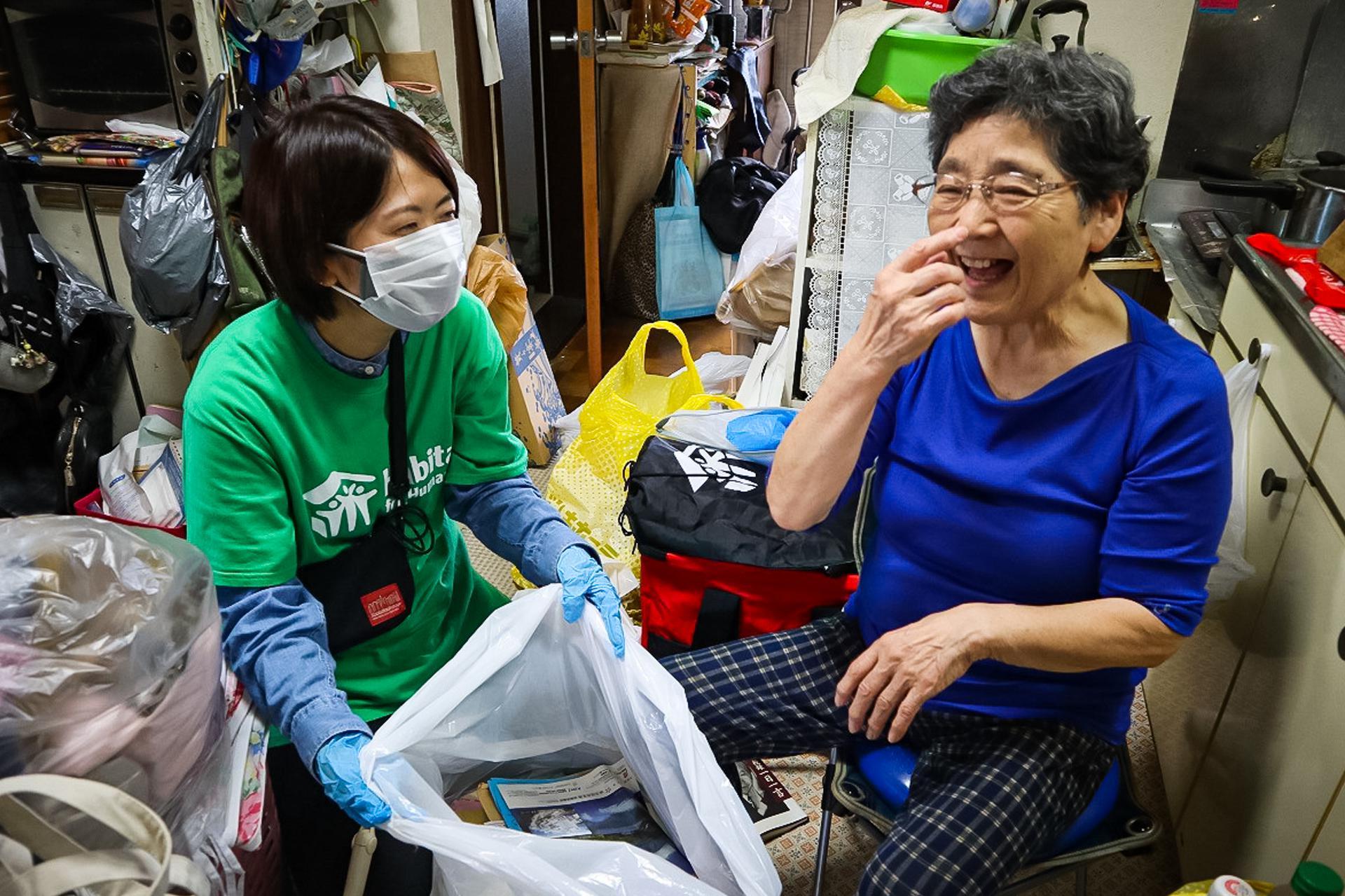 在日本應對疫情的工作