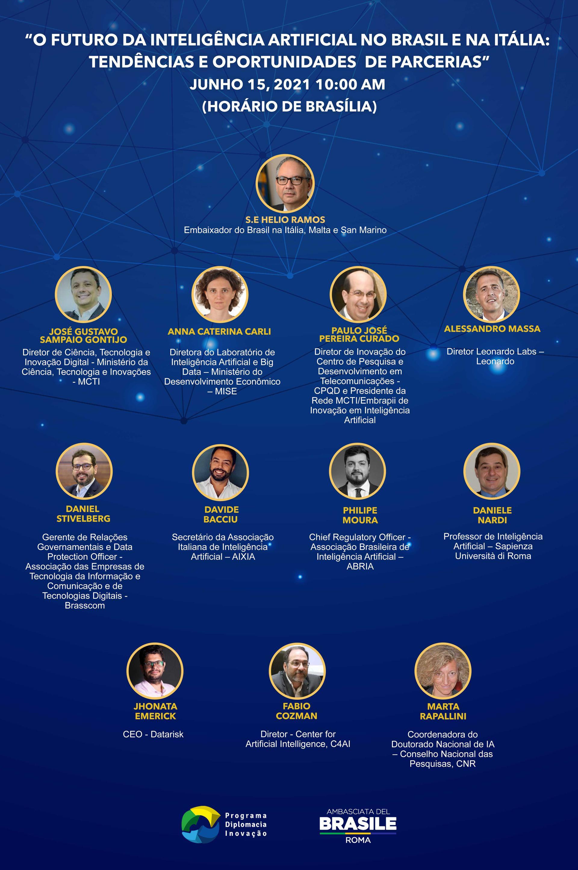O Futuro da Inteligência Artificial no Brasil e Itália: tendências e oportunidades de parceria