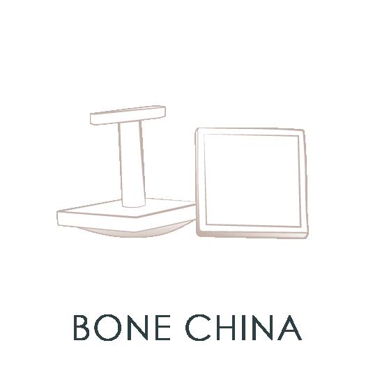 Bone China Cuff Links