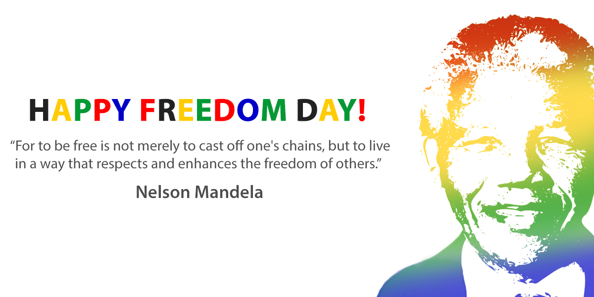 Freedom Day - Public Holiday 27 April '21