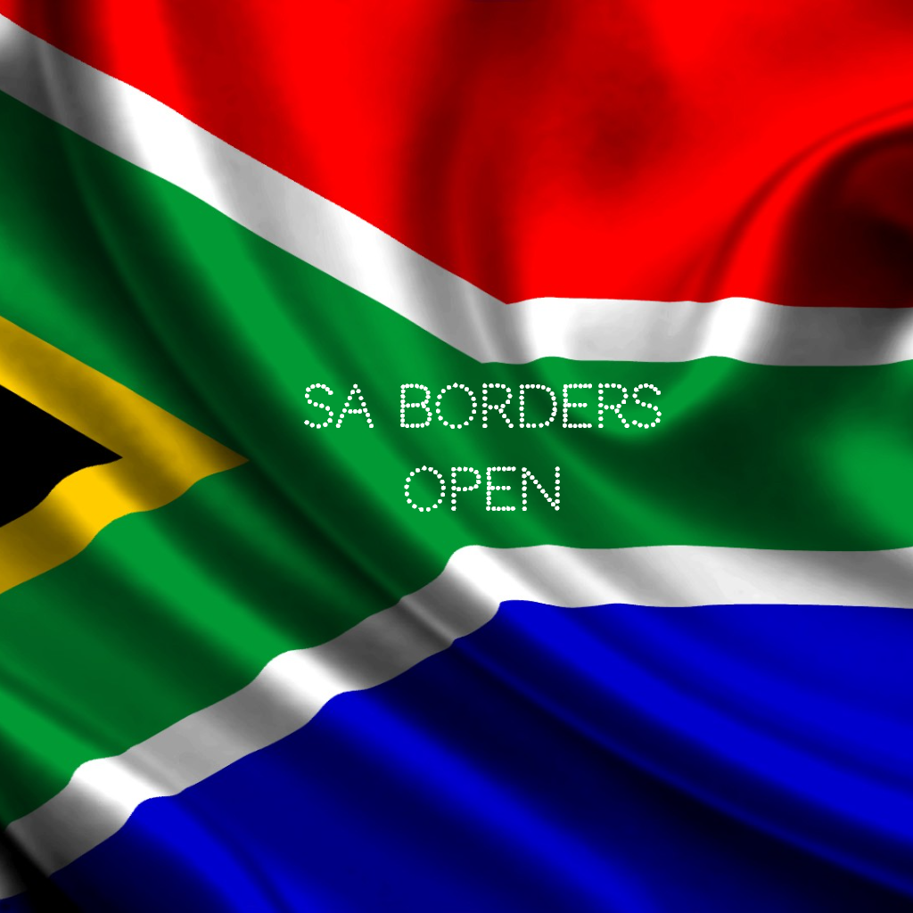 Yes, we are OPEN! South African borders are now open to all travellers.