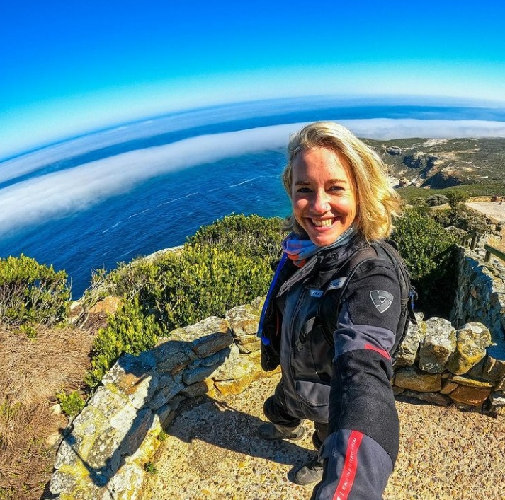 One woman. One bike. Traveling South Africa.