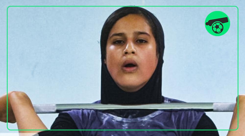 تاریخ سازی دختر اصفهانی در وزنه برداری جهان