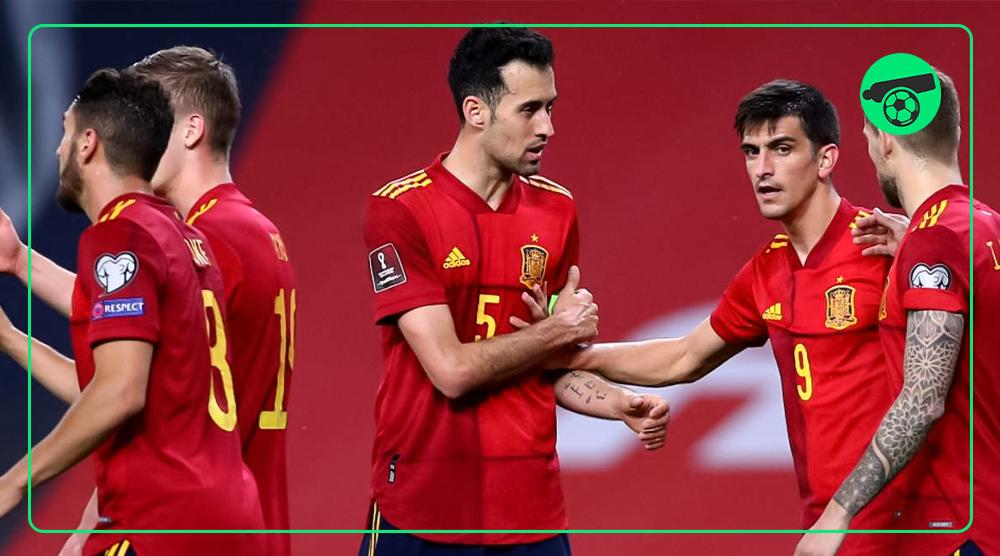 احتمال حذف اسپانیا از یورو۲۰۲۰