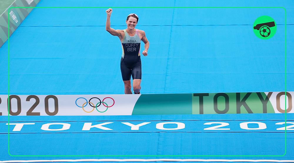 اولین طلای المپیک برمودا در ورزش سه گانه