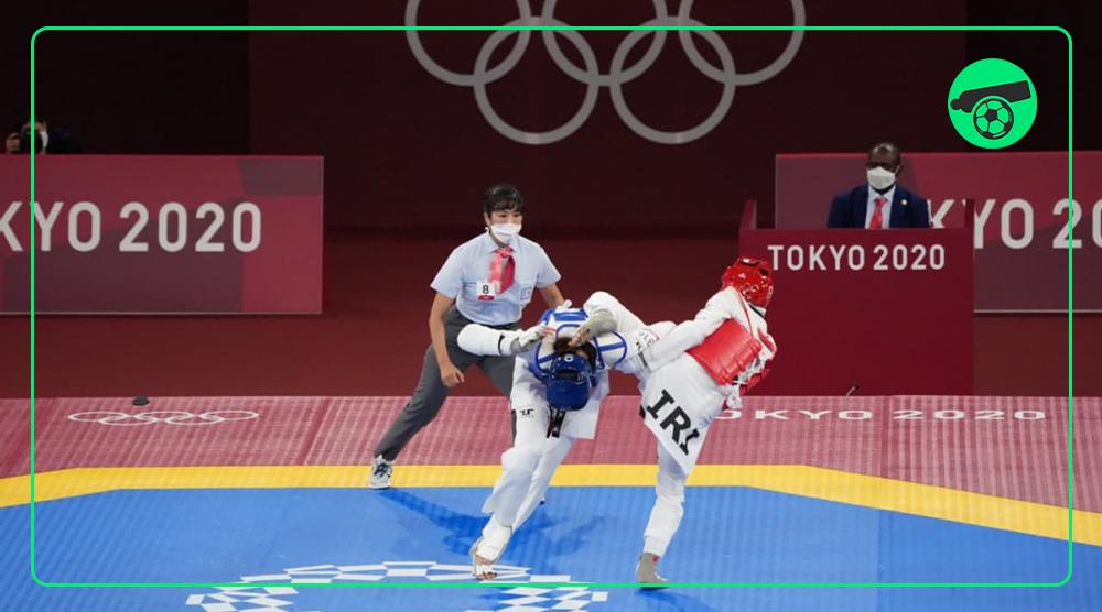 برد کیمیا علیزاده در روز سوم المپیک