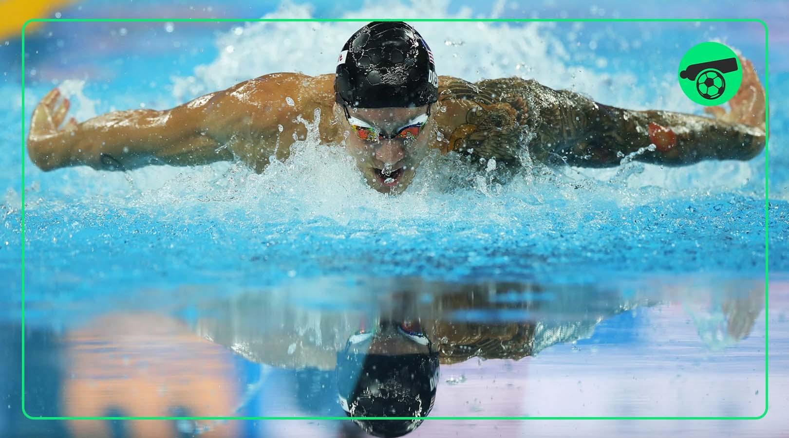 کائلب درسل با ۵ مدال طلای المپیک رکورد زد