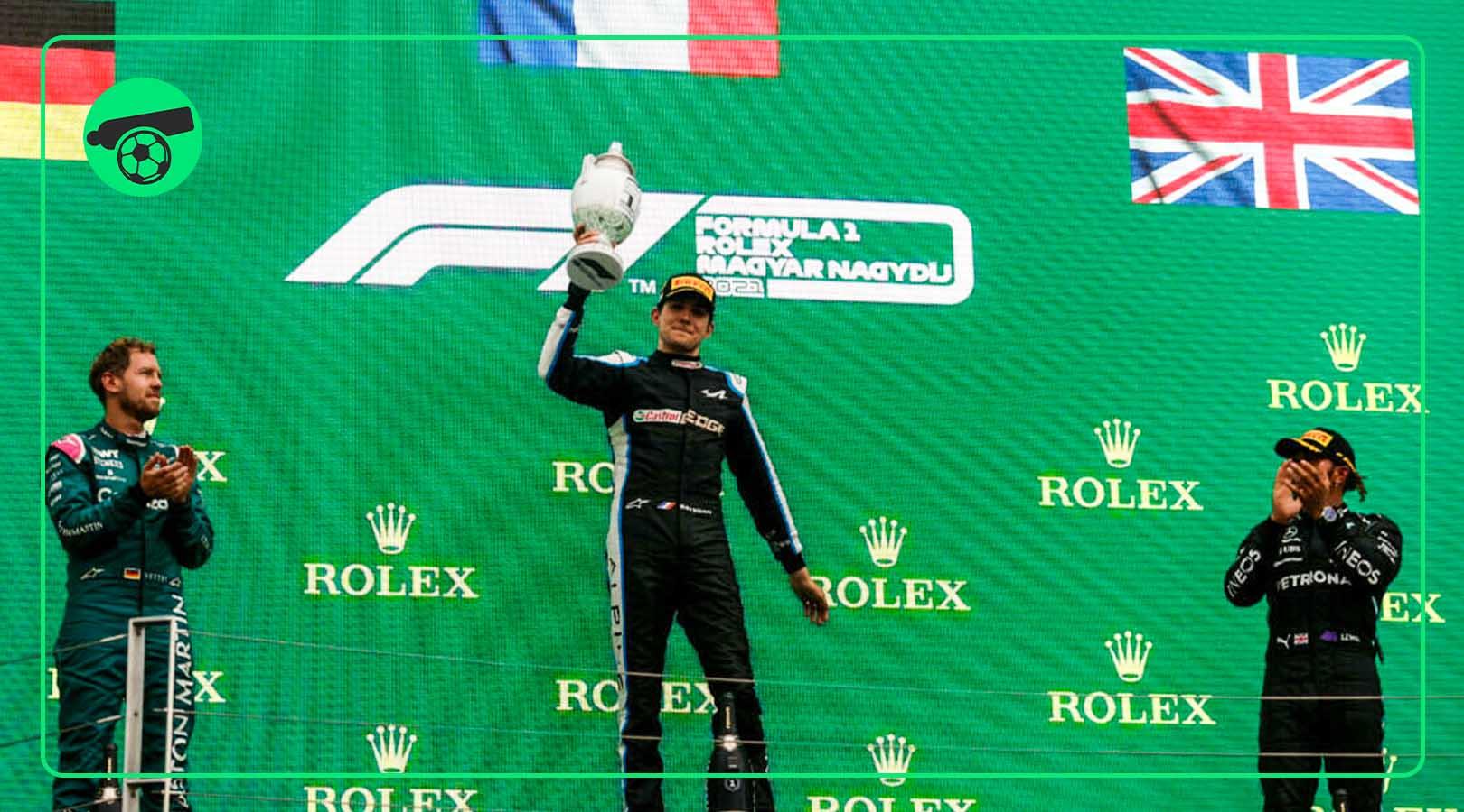 Alpine's Esteban Ocon win Hungary GP with Hamilton second