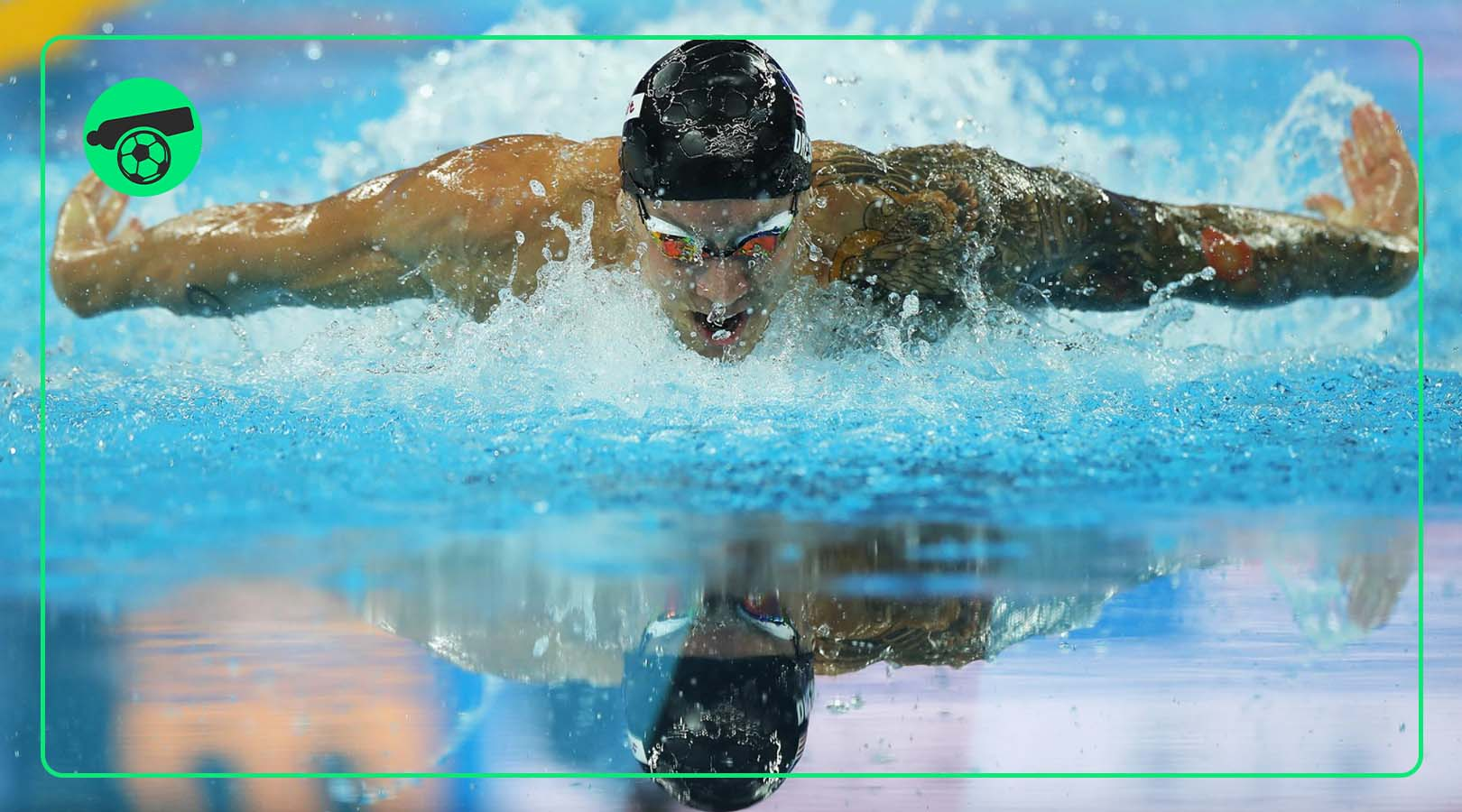 Caeleb Dressel won 5 gold medals and set a record
