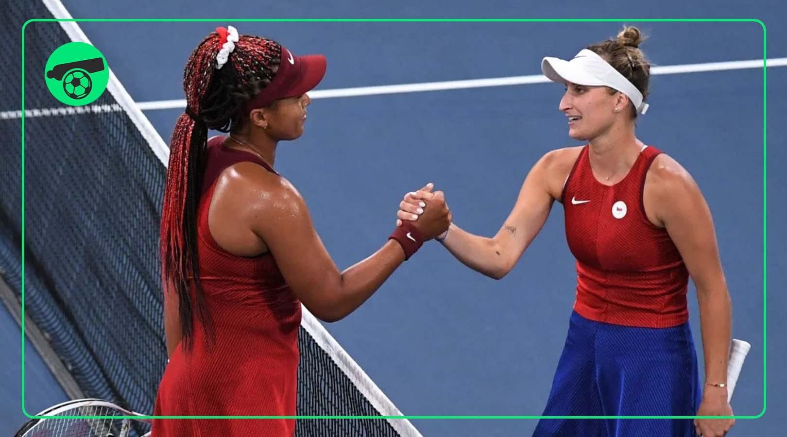 Naomi Osaka exits Olympics by losing to Vondrousova
