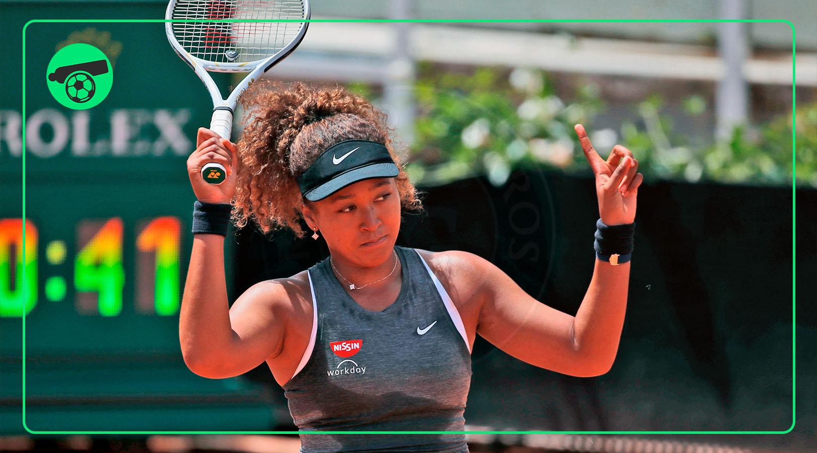 Naomi Osaka will face expulsion from the French Open and future Grand Slams