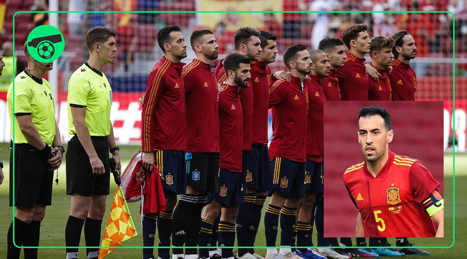 Spain's Captain Sergio Busquets tested positive for COVID-19