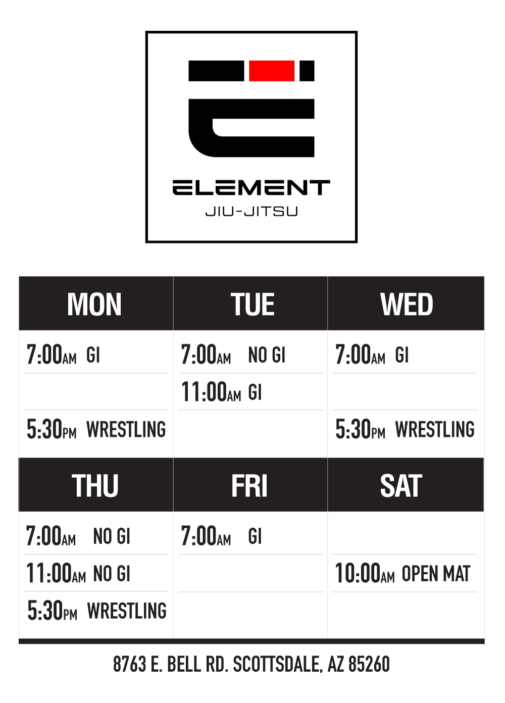Element Jiu-Jitsu