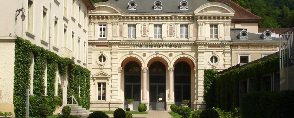 Tourisme à Grenoble  : les cinq spots de l'Isère à découvrir cet été Thermes_uriage-les-bains