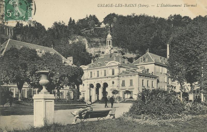 Tourisme à Grenoble  : les cinq spots de l'Isère à découvrir cet été Uriage1900-thermes4