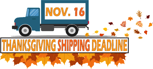 Get your wine shipped by November 16th and receive it before Thanksgiving