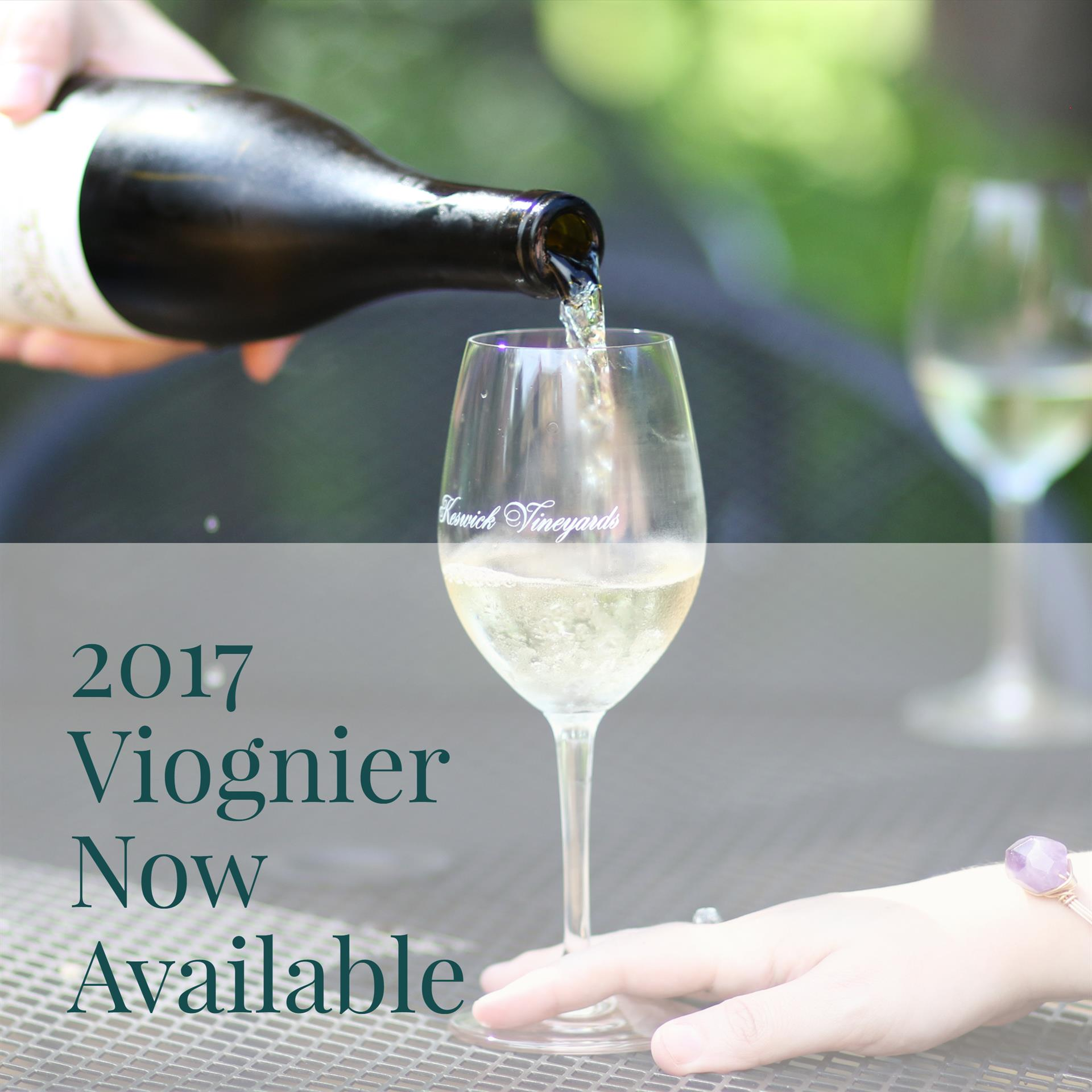 2017 Viognier now available