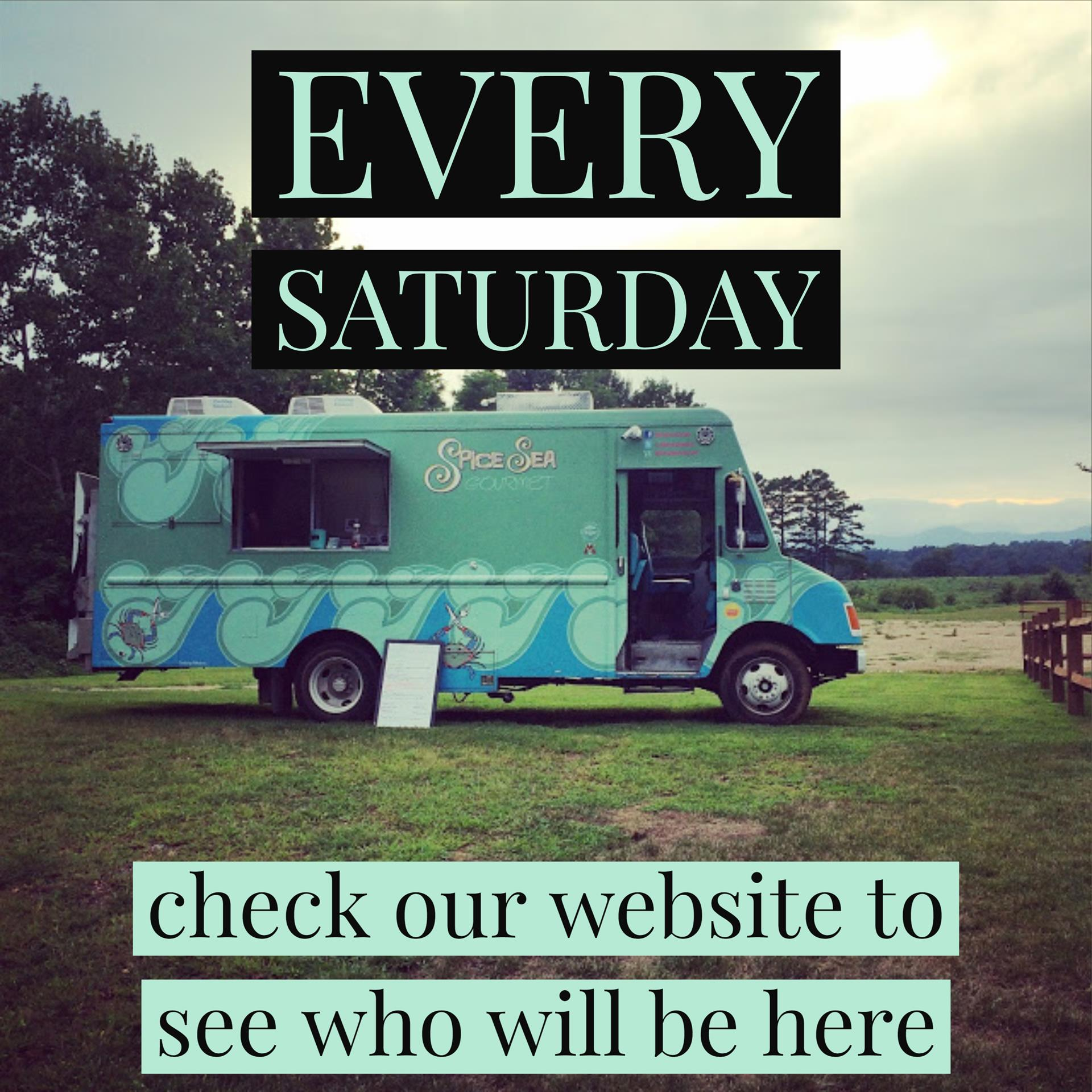 food trucks every saturday