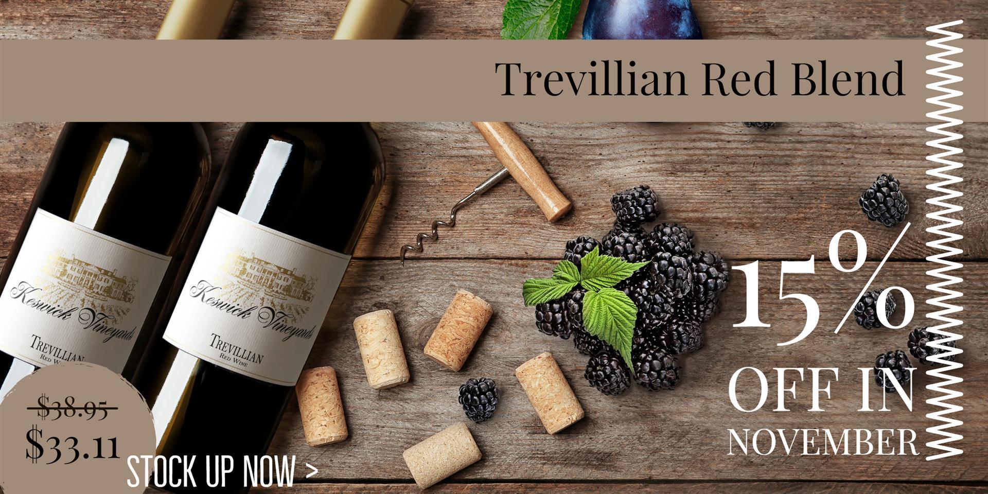 Trevillian Red On Sale through November