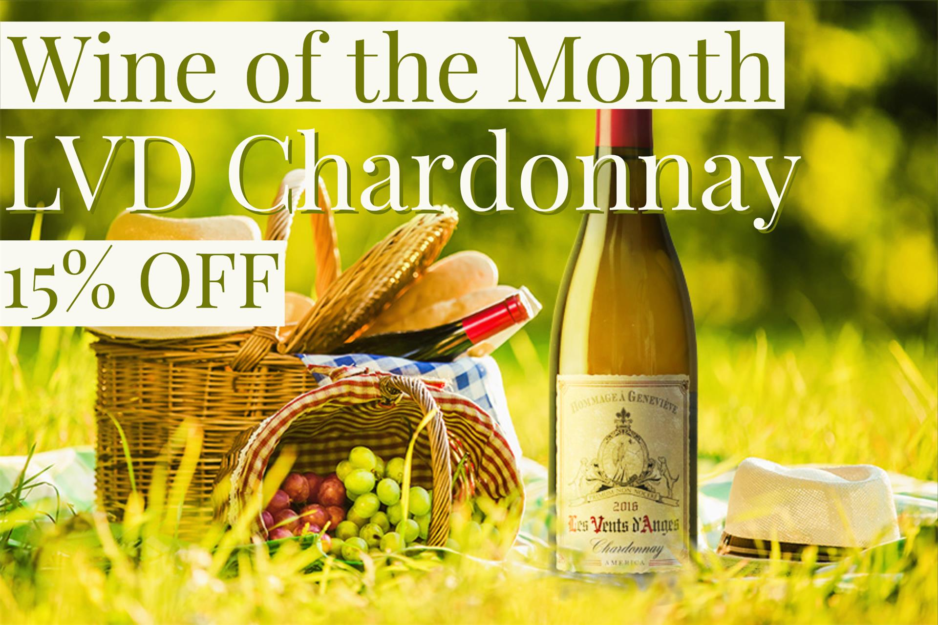 Wine of the Month Chardonnay