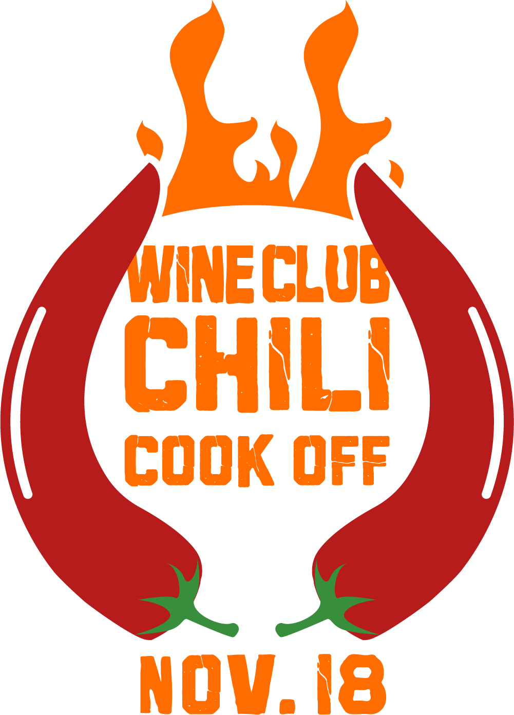 wine club chili cook off
