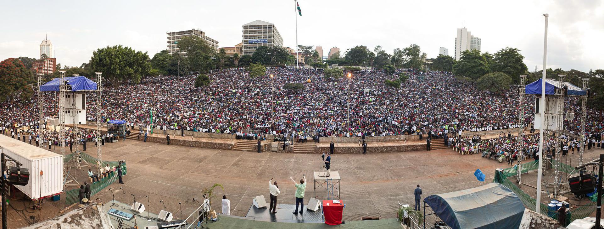 Uhuru Park, Kenya Crusade