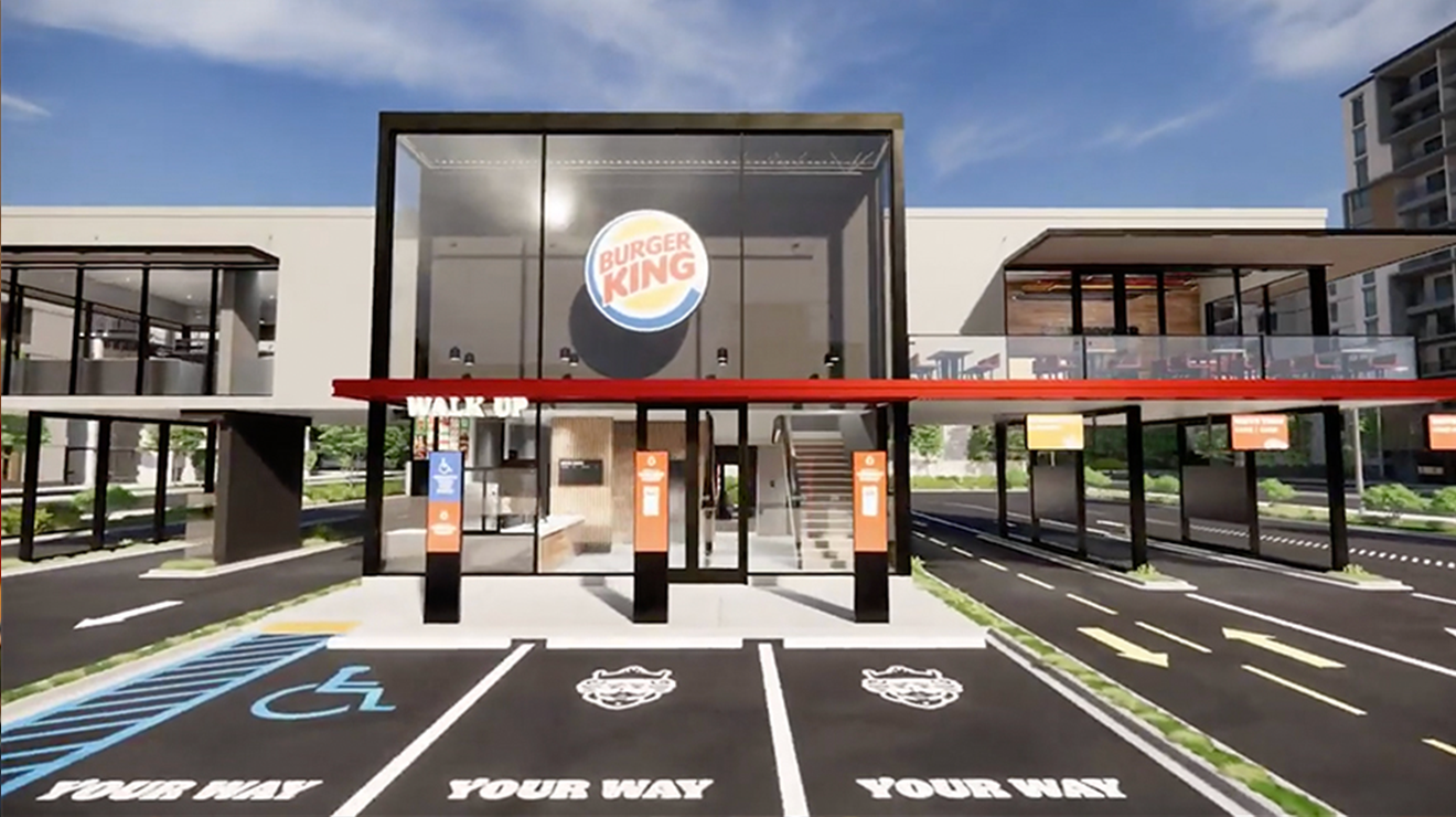Newly Designed Touchless Tech Burger King Eateries Will Debut in Miami