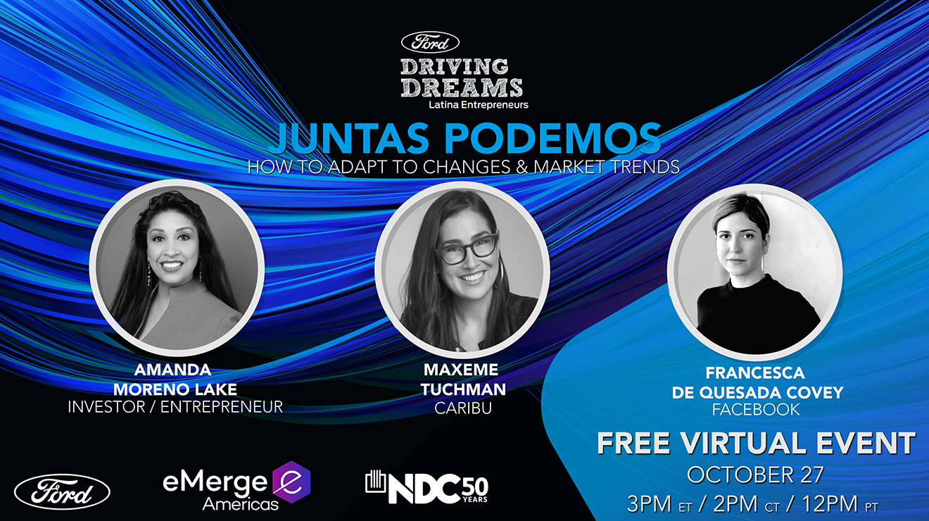 Virtual Kickoff for Ford Driving Dreams Latina Entrepreneurs Initiative
