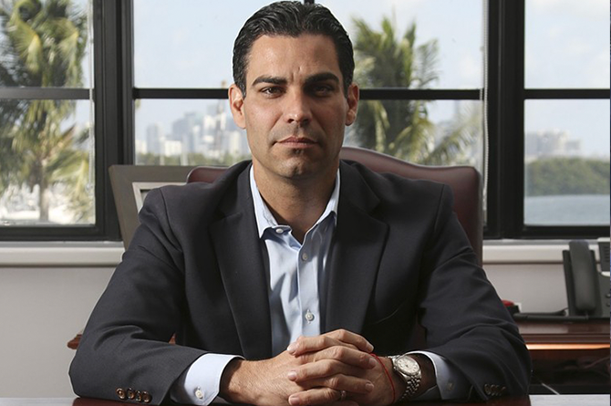 Miami Mayor Francis Suarez Urges Financial Firms to Relocate to Florida