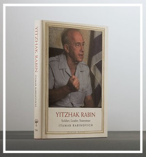 Book Cover - Yitzhak Rabin: Soldier, Leader, Statesman